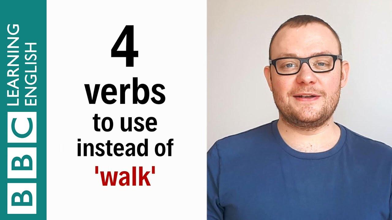 【一分鐘英語】除了 walk,教你四個動詞表達『走』