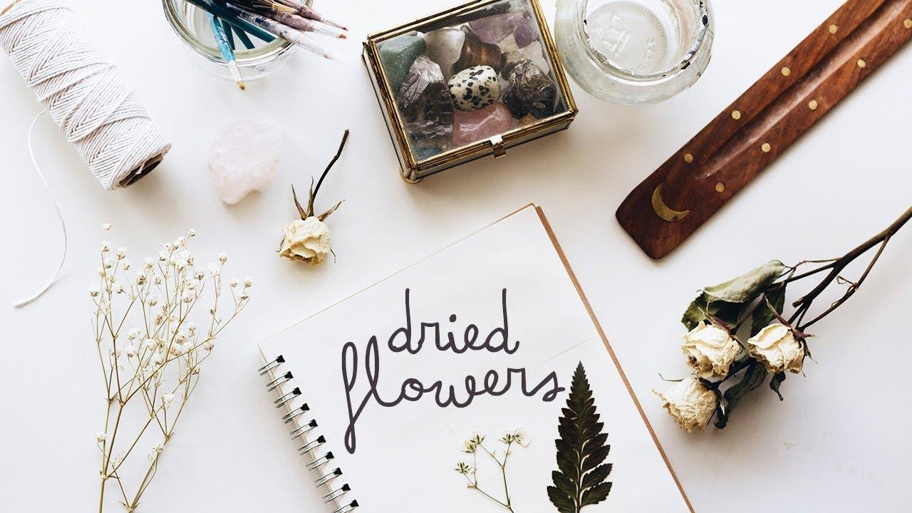 手帳愛好者照過來!五分鐘教你做美美的乾燥花