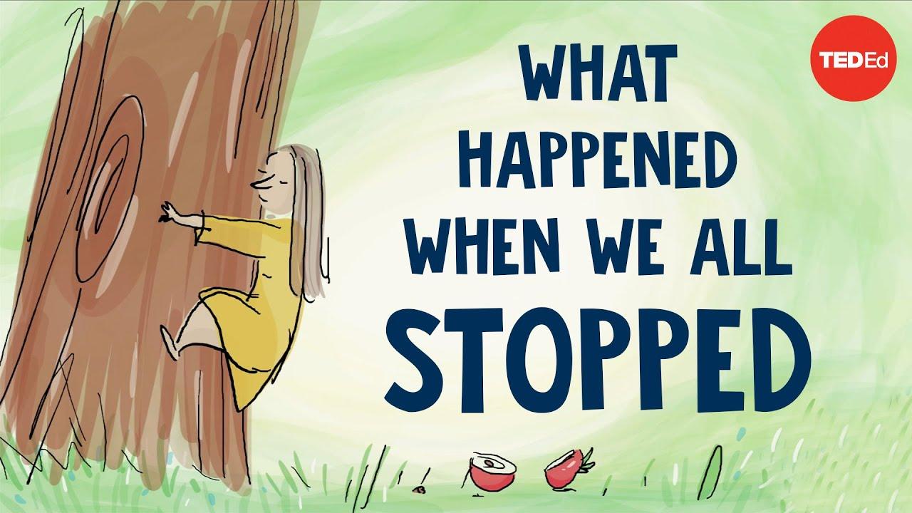 《當我們停下腳步,會發生什麼事?》--欣賞珍古德朗誦的繪本詩