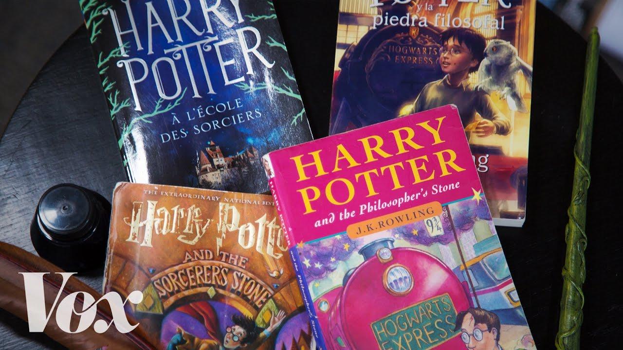 《哈利波特》與傷透腦筋的譯者