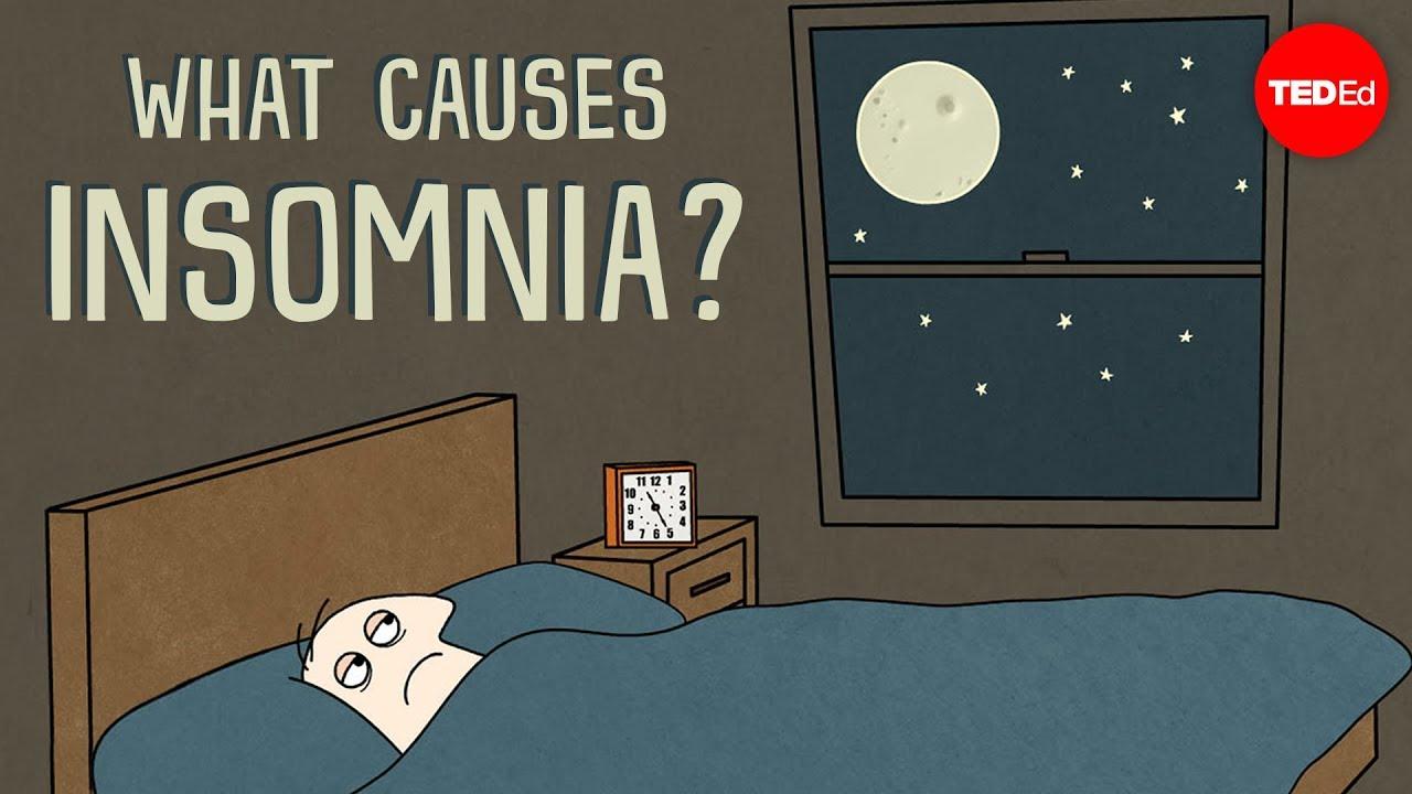 翻來翻去就是睡不著?來看看失眠的成因