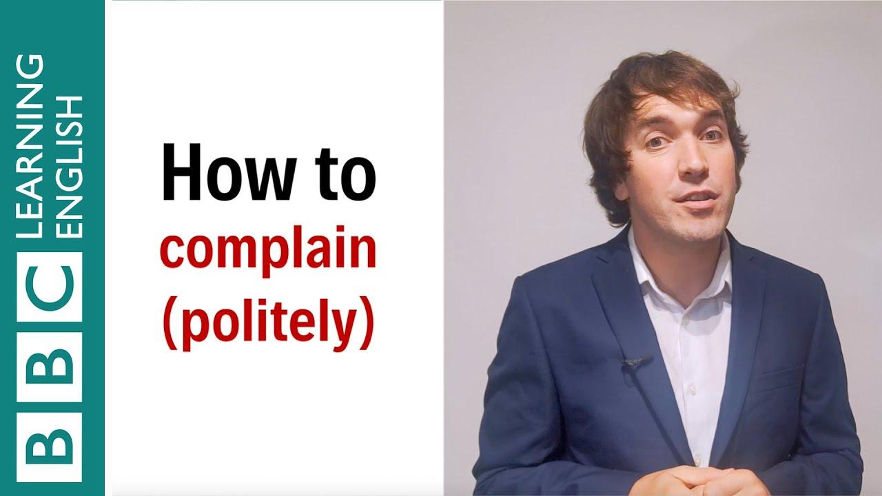 【一分鐘英語】如何有禮貌地抱怨?
